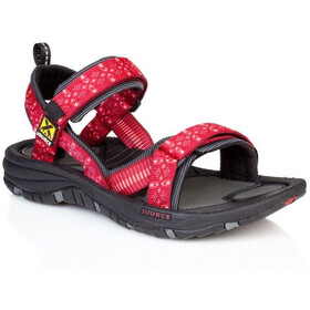 SOURCE Gobi Sandalias Mujer, tribal red